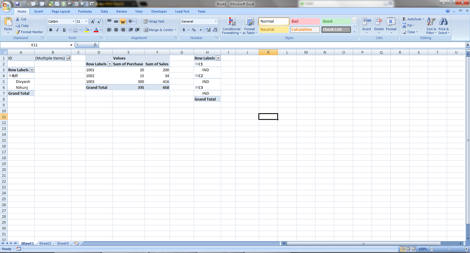 Could we able to create a multiple pivot tables in a single sheet create a multiple pivot tables in a single sheet with different source data through excel vba gamestrikefo Image collections