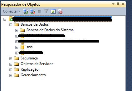 Banco de dados sendo criado no SQL Server ao invés de referenciar o já existente no POSTGRESQL