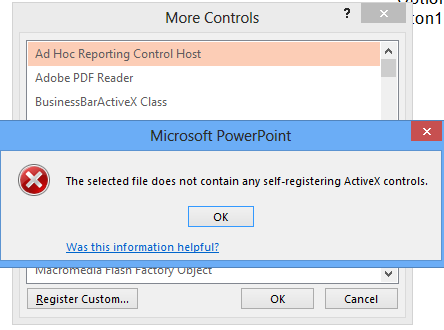 Adding Property to ActiveX Plugin for Powerpoint
