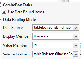 ComboBox tasks