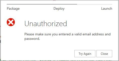NAPA tool error