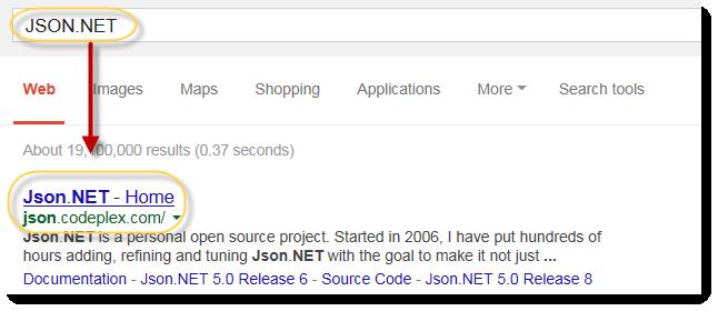 Deserialize JSON result in vb net for window application