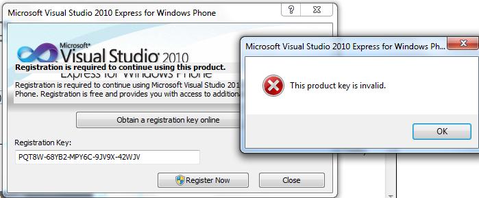 Visual studio product key 2010   Software: Microsoft Visual