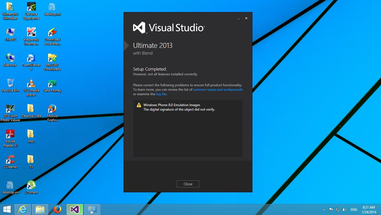 Install visual studio 2013 include windows phone sdk 8. 0 youtube.