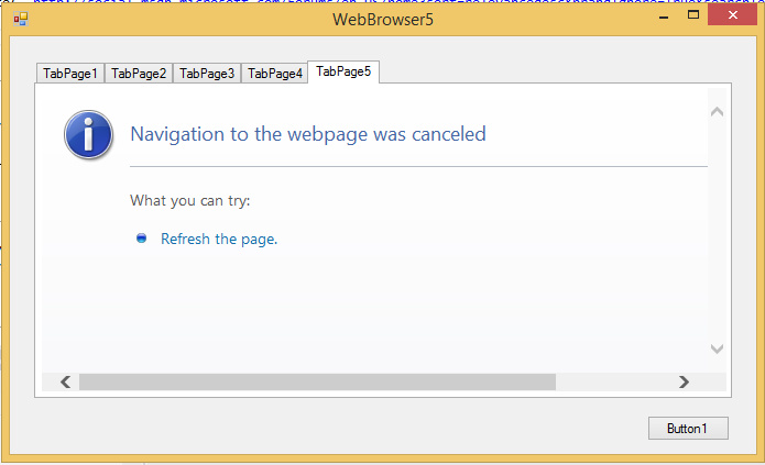 Looking for webbrowser timeout if page wont load