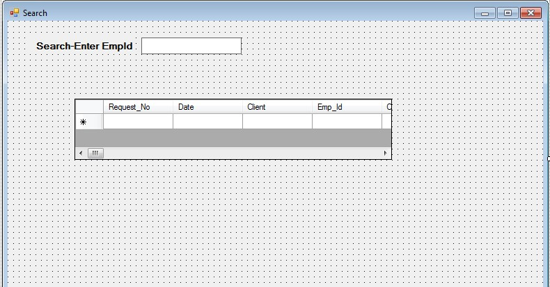 how to search in textbox c