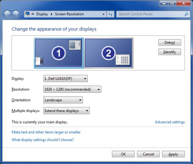 Display Screen Resolution