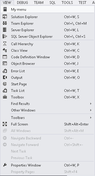 how to change the class name in visual studio