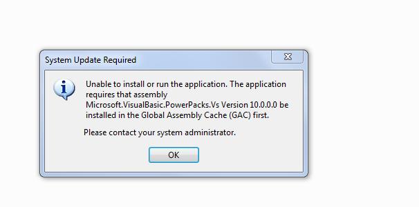microsoft visual basic power pack vs 10.0.0.0