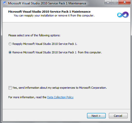 Ms visual studio 2010 service pack 1 and tools for office runtime x64 were left behind and won - Visual studio 2010 tools for office runtime ...