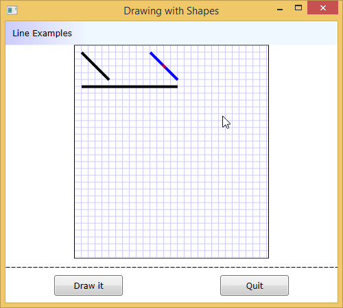 Drawing Lines Wpf : Need assistance moodifying a xaml interface