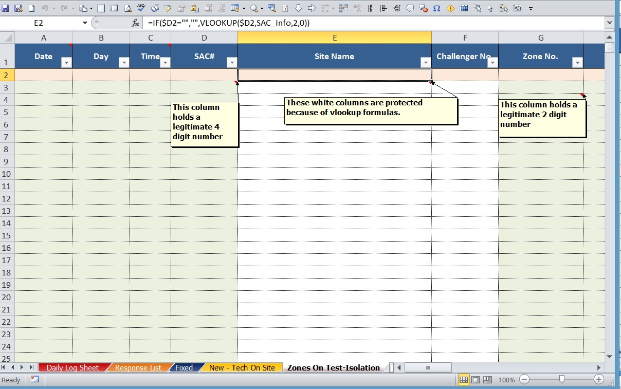 Excel 2010 Vba How To Consolidate Same Code For Different Columns In