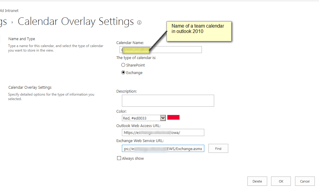 Share Calendar Outside Organization Exchange : Display a teams s outook calendar in sharepoint