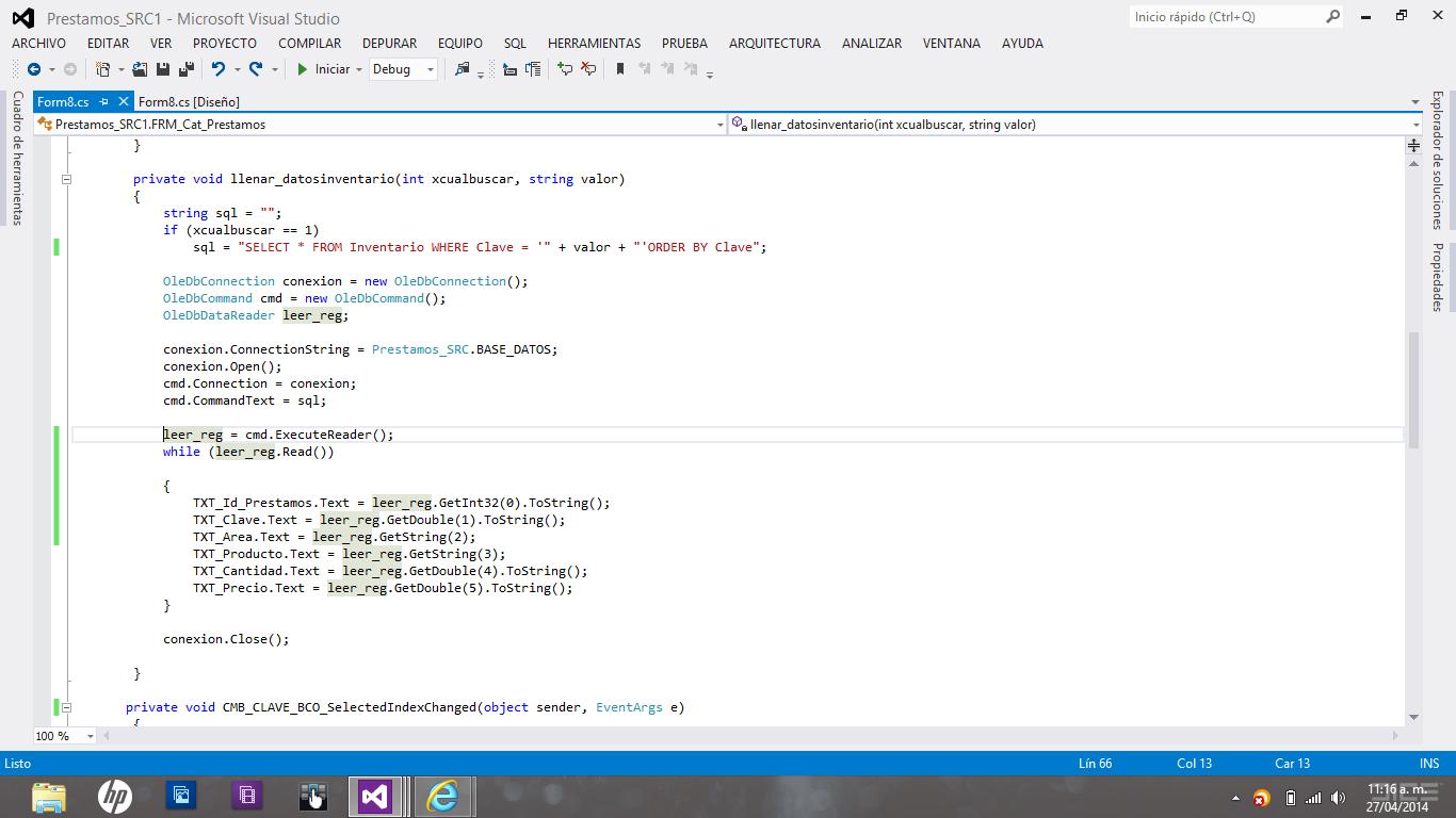 el error lo tengo donde esta el parametro el cmd.ExuteReader();