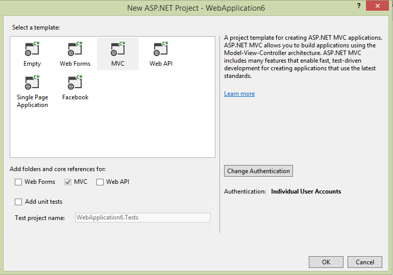 How add template to visual studio 2013 web template the for Aspx net templates