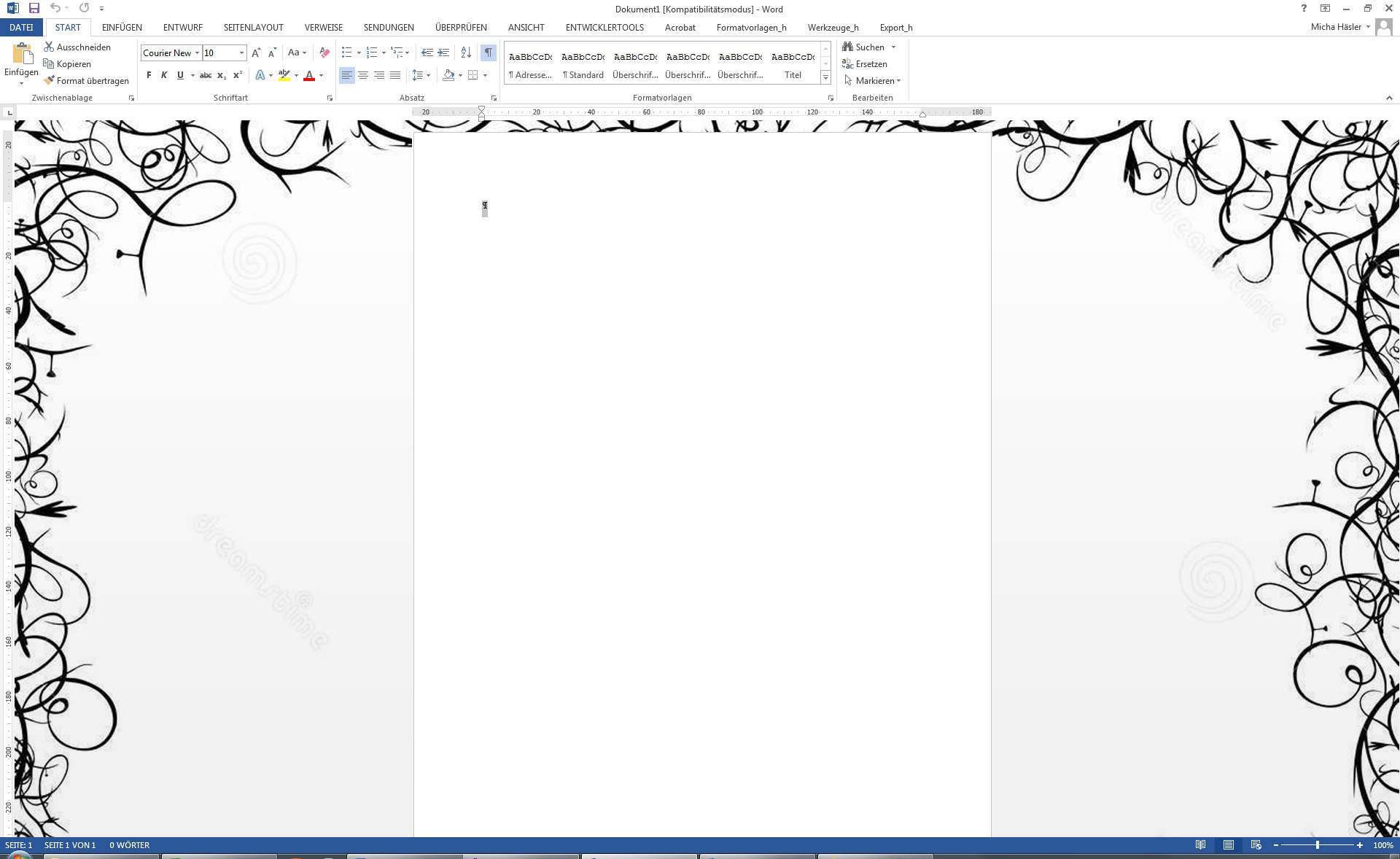 how to delete background in word