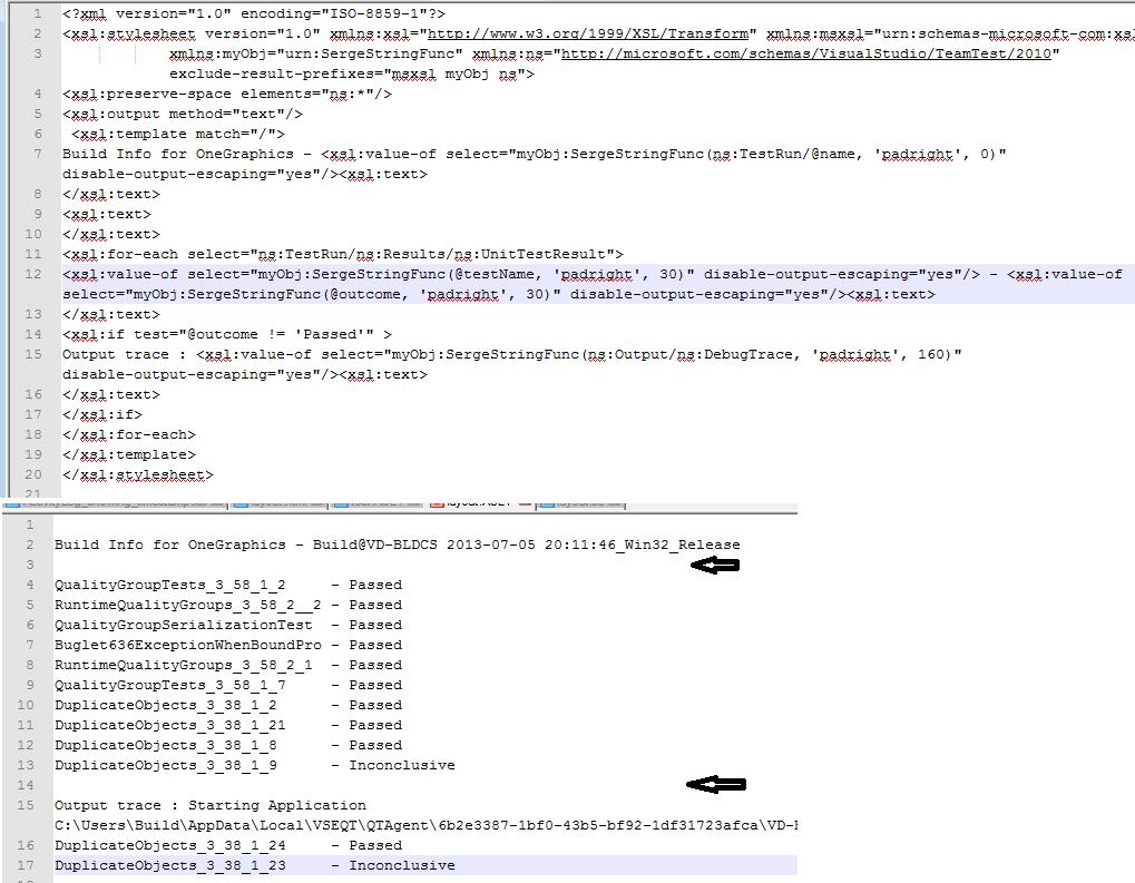 XSLT Newline handling quirks - Text mode