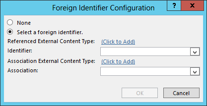Foreign Identifier Configuration