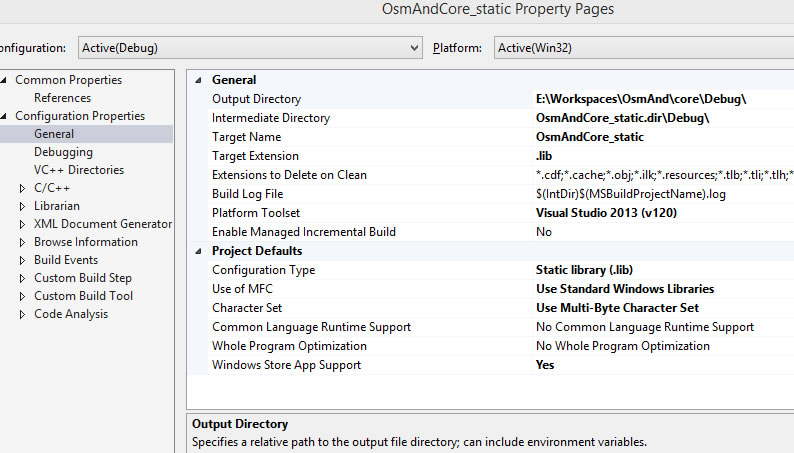 Linking issues when using a C++ library in a Windows Runtime