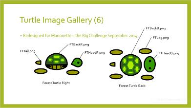 Designed image for Marionette Turtle