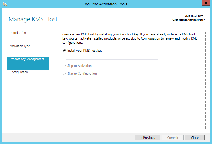 msdn subscription activation key