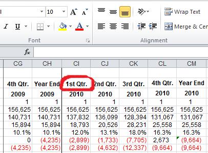 Input worksheet data