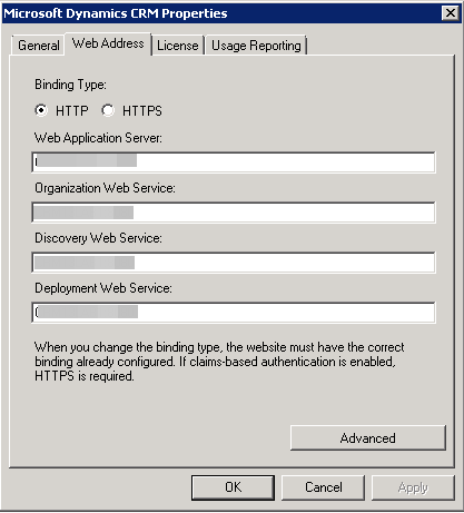 Dynamic CRM 2013 Deplyment Manager Web Address