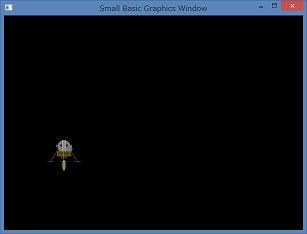 Screen shot of a program Luna Module 0.1a