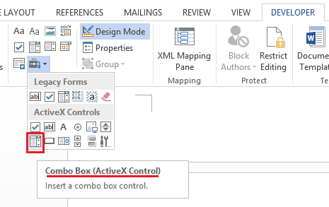 Populate a text based based on value selected in combo box