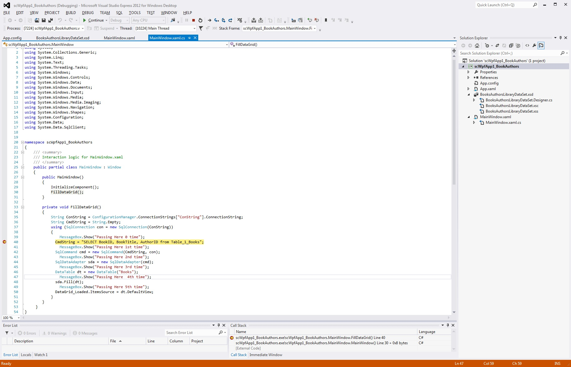 how to find sql server 2012 connection string