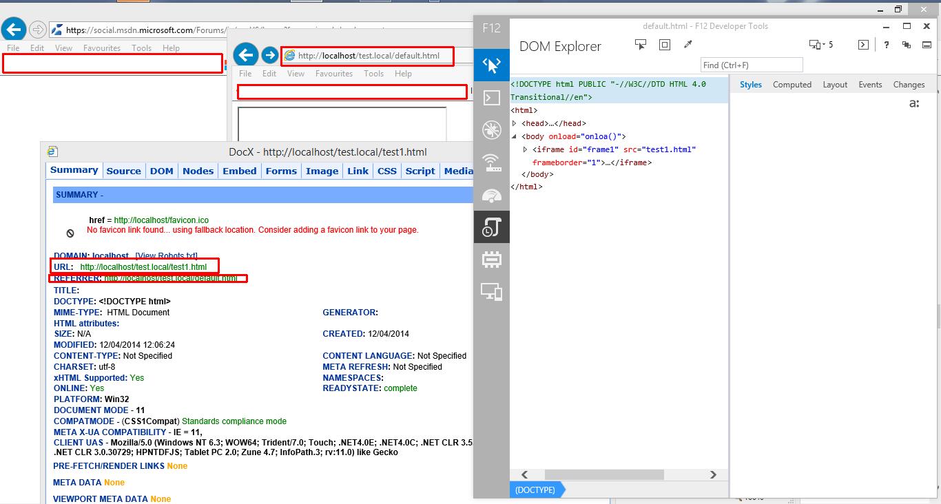 IE 11 - Document modes clarification
