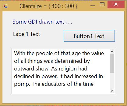 Windows Form application using VB NET - Maximizing and