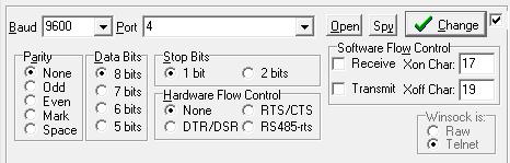 Sending big chunk of data over serial port