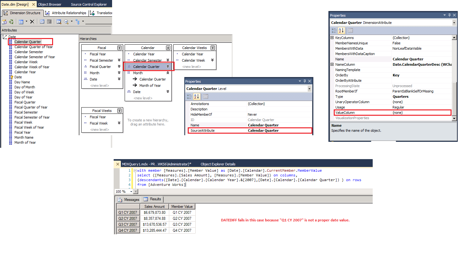Because sql server did not have a built-in transact-sql