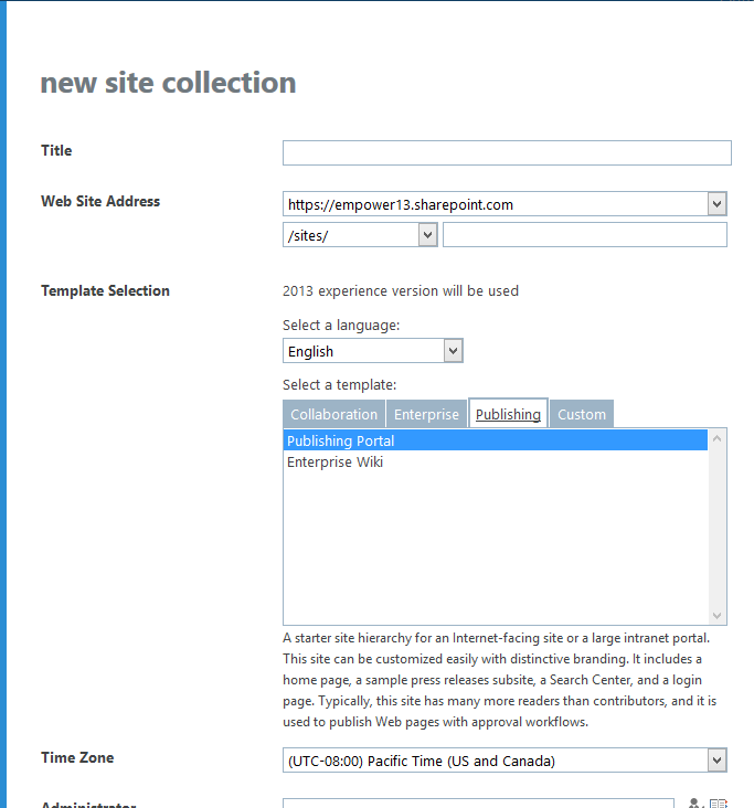 How should I get Product Catalog template in office 365?