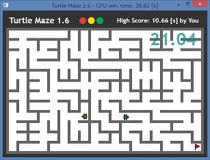 Turtle Maze by Nonki Takahashi