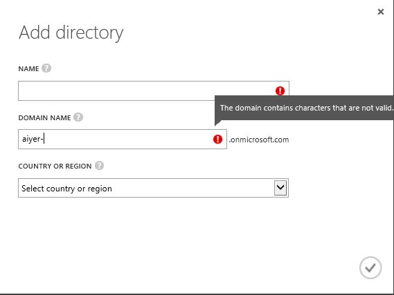 Add A New Directory With Hyphen In The Domain Name