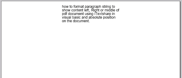 convert html string to pdf using itextsharp