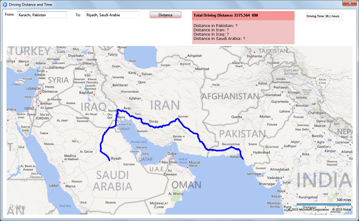image- Distance including borders - 2