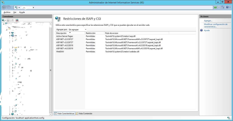 Configurar correctamente aplicaciones de 32 bits en IIS 8.5 ...