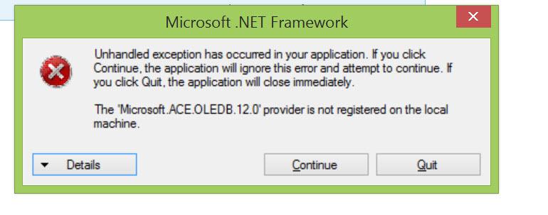 vb net application loading time platform any cpu x86