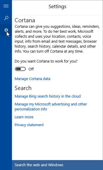 searchui.exe search and cortana application