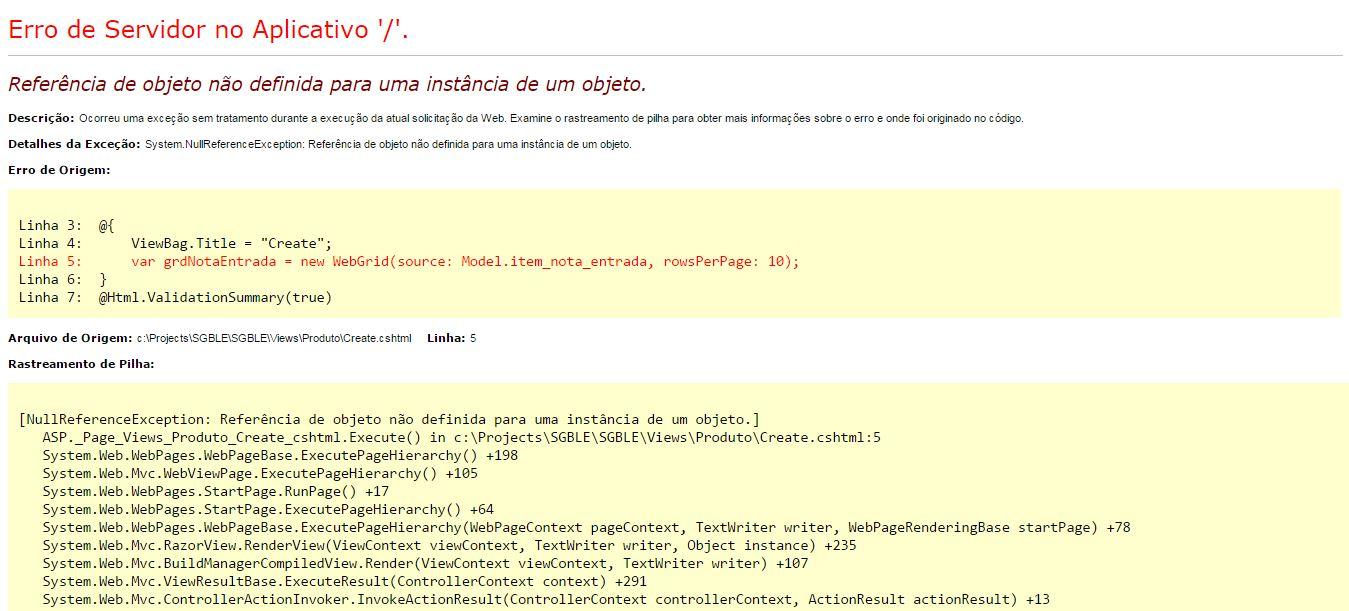 Lista Pnl Europarlamentare Detail: Lista De Produtos C# Web