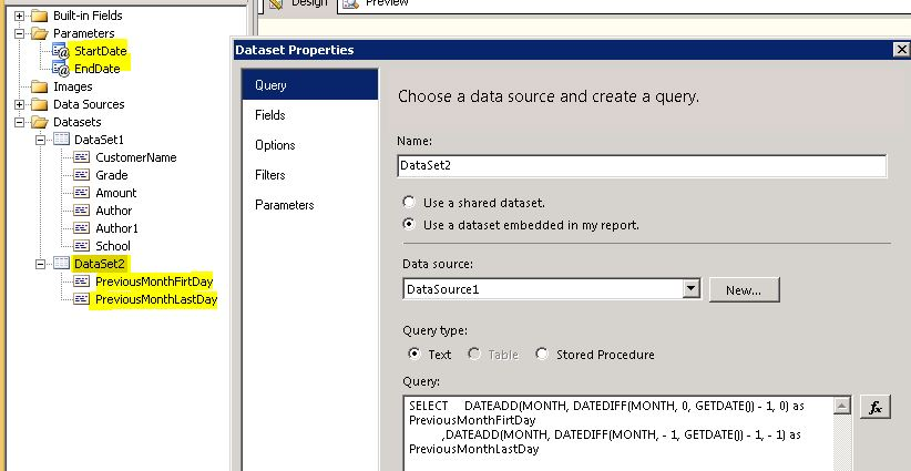 how to add in subclause in c select query parameters