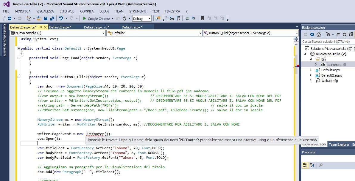 itextsharp text to pdf c#