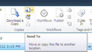 Move or Copy button on sharepoint ribbon