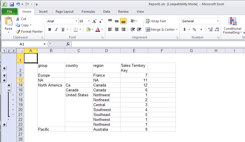 how to move rows down in excel