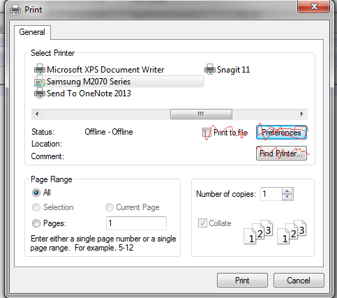 Cannot Print From Internet Explorer 11