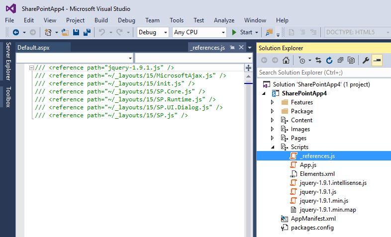 Visual Studio 2015 Community intelliSense not working