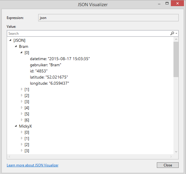 JSON NET - Deserialize an array of arrays